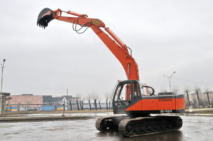Экскаватор УВЗ ЭО-41211А