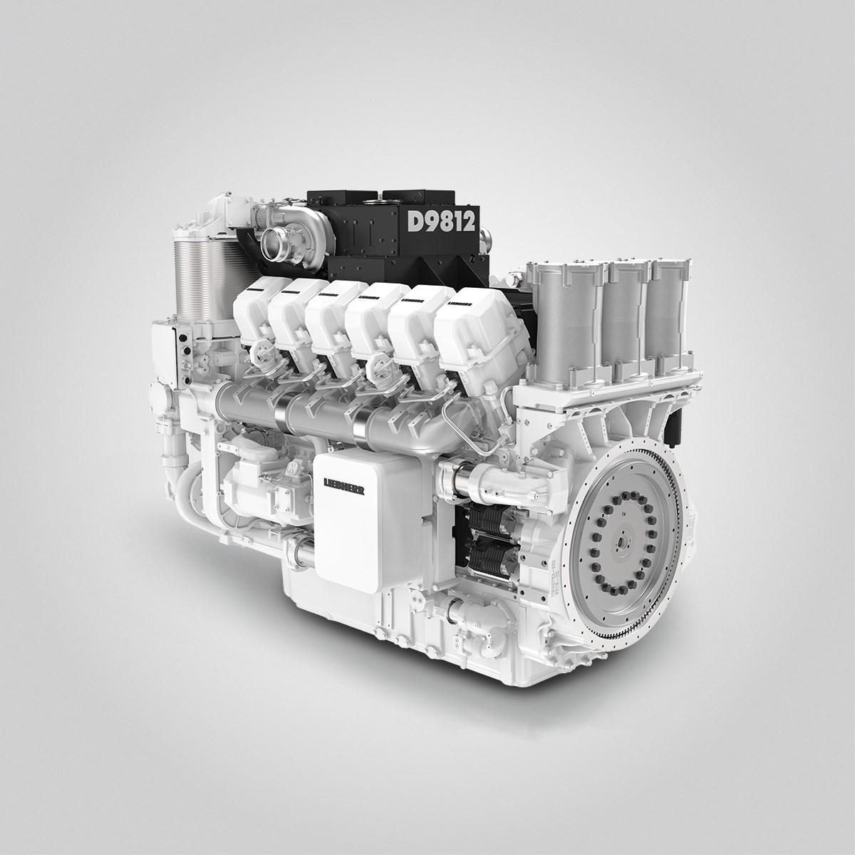 Двигатель Liebherr D9812