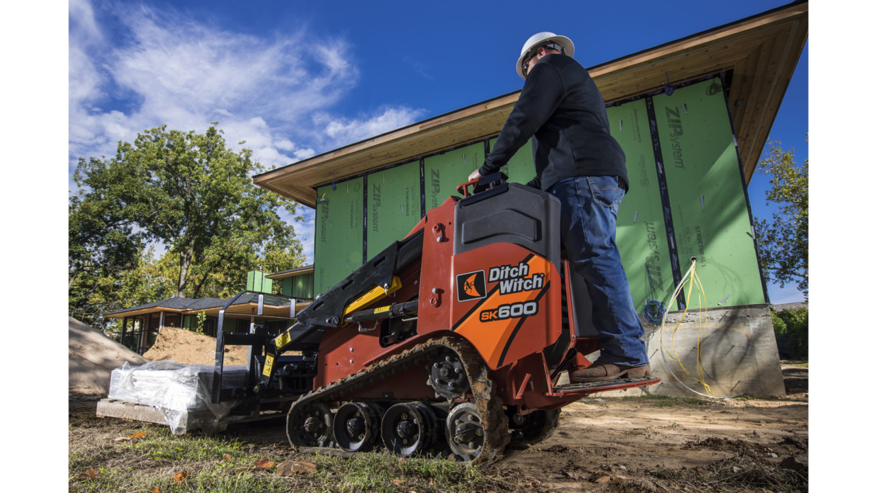 мини-погрузчик Ditch Witch SK600