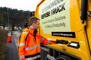 Автономный мусоровоз на базе Volvo FM 330