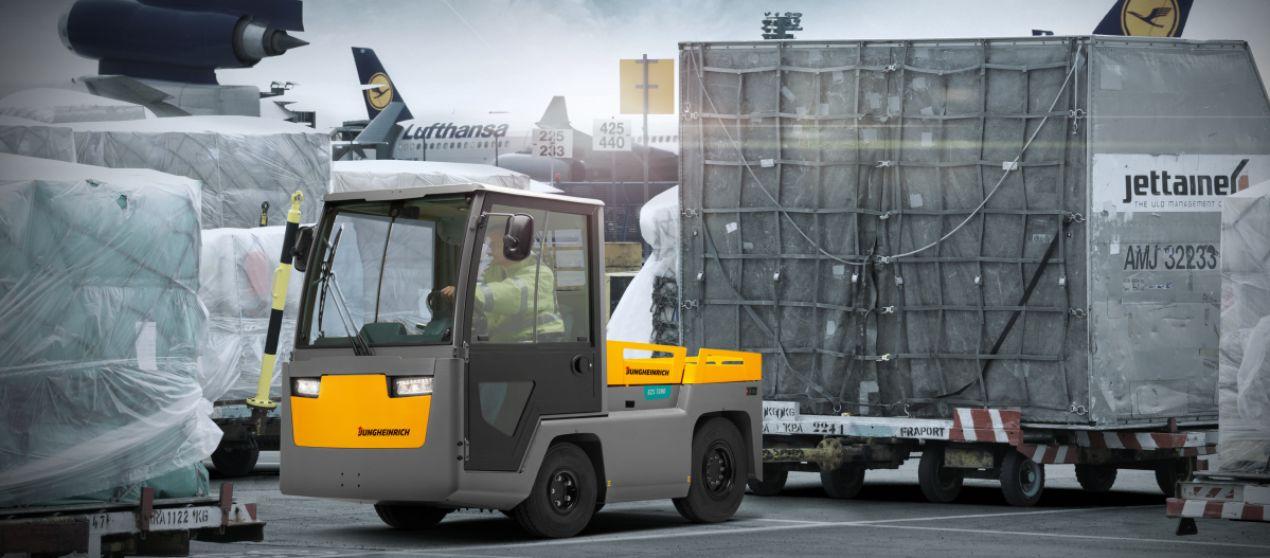 Буксировочный тягач Jungheinrich EZS 7280