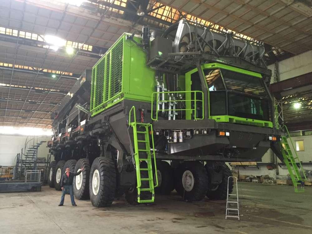 Карьерный самосвал ETF Mining Truck МТ-240